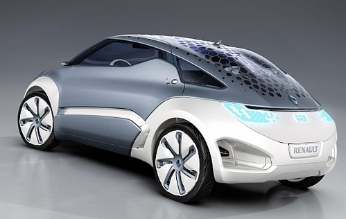 Solar Electric Vehicles renault